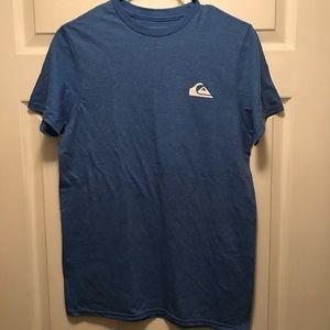 NWOT Quiksilver Waterman Tee Shirt Blue Size Small